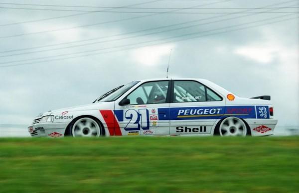 KRONOS-Eric-BACHELART-Peugeot-405-Mi-Belgian-Procar-1994-©-Manfred-GIET.