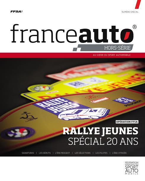 MAGAZINE FRANCE AUTO Hors serie RALLYE JEUNES