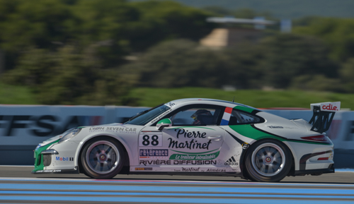 PORSCHE-CARRERA-CUP-2014-PAUL-RICARD-le-25-octobre-N°88-Pilote-Come-LEDOGAR-Team-MARTINET-by-ALMERAS-Photo-Antoine-CAMBLOR.