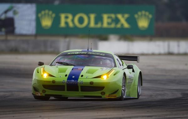 12 Heures de SEBRING-2012-la FERRARI du KROHN Racing