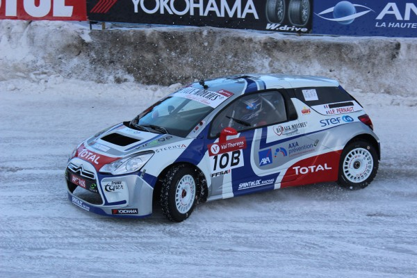 TROPHEE ANDROS 2014-2015 VAL THORENS- DS3 CITROEN de Jean Pierre PERNAUT - Photo JEFF DUBY