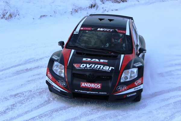 TROPHEE ANDROS 2014-2015 VAL THORENS- TOYOTA AURIS de Oklivier PANIS du Team WRT - Photo JEFF DUBY