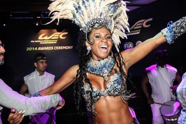 WEC-2014-SAO-PAULO-DANSEUSE-lors-de-la-céremonie-de-la-remise-des-Prix-du-WEC.