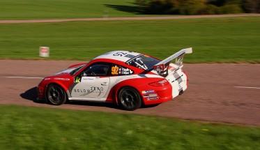 WRC 2014 RALLYE DE FRANCE PORSCHE de Francois DELECOUR