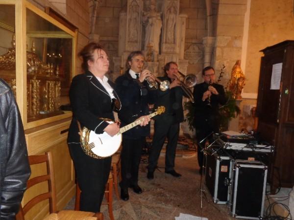 Jean Pierre BELTOISE. Adieu en musique a l'église de Saint Vrain