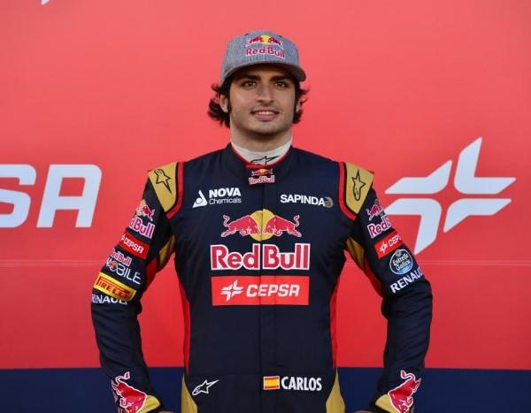 F1-2015-JEREZ-de-la-FRONTERA-Samedi-31-janvier-PRZESENTATION-TORO-ROSSO-Carlos-SAINZ-Junior-Photo-Max-MALKA