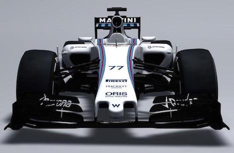 F1 2015 -Le TEAM WILLIAMS DEVOILE SA MONOPLACE de la saison 2015 B
