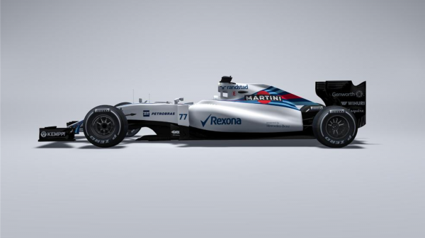 F1 2015 -Le TEAM WILLIAMS DEVOILE SA MONOPLACE de la saison 2015