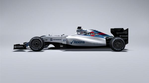 F1 2015 -Le TEAM WILLIAMS DEVOILE SA MONOPLACE de la saison 2015