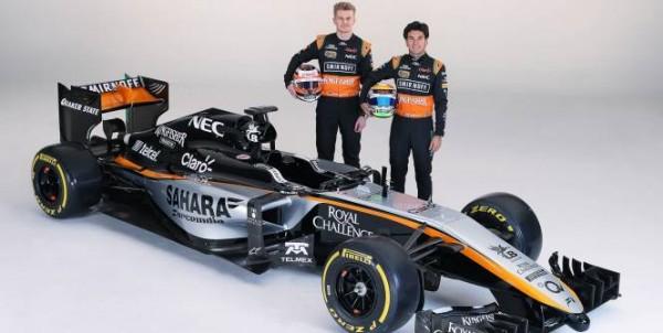 F1-2015-Présentation-des-pîlotes-et-de-la-nouvelle-FORCE-INDIA
