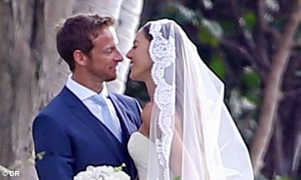 JENSON BUTTON se marie