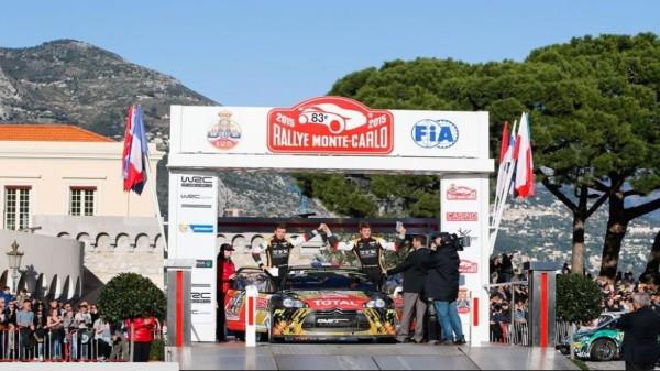MONTE-CARLO-2015-Arrivée-de-la-DS3-WRC-de-Sébastien-CHARDONNET-Thibault-DE-LA-HAYE