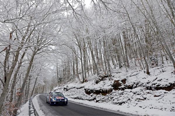 MONTE CARLO 2015- La VW POLO WRC de Jari Matti LATVALA.