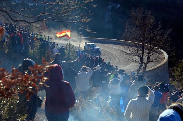 MONTE CARLO 2015- La VW POLO WRC des vainqueurs Sebastien OGIER et Julien INGRASSIA.