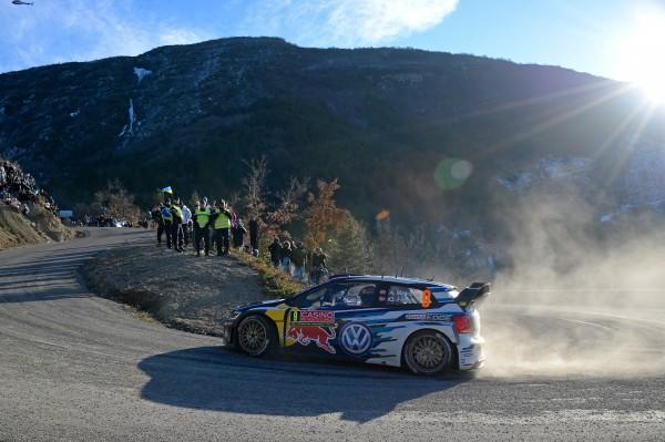 MONTE CARLO 2015 VW POLO WRC de Andreas MIKKELSEN
