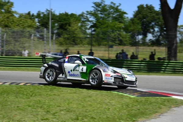 PORSCHE-CARRERA-CUP-2014-IMOLA-SACHA-BOTTEMANNE. Photo  Max MALKA