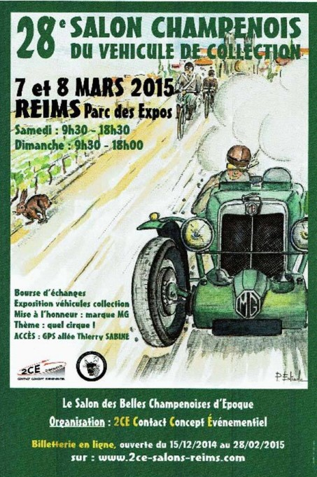 SALON CHAMPENOIS 2015 Affiche