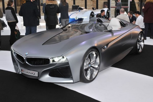 SALON CONCEPT CAR PARIS 2015 - BMW VISION connectdrive