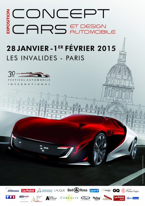SALON CONCEPT CARS 2015 auxI NVALIDES a PARIS