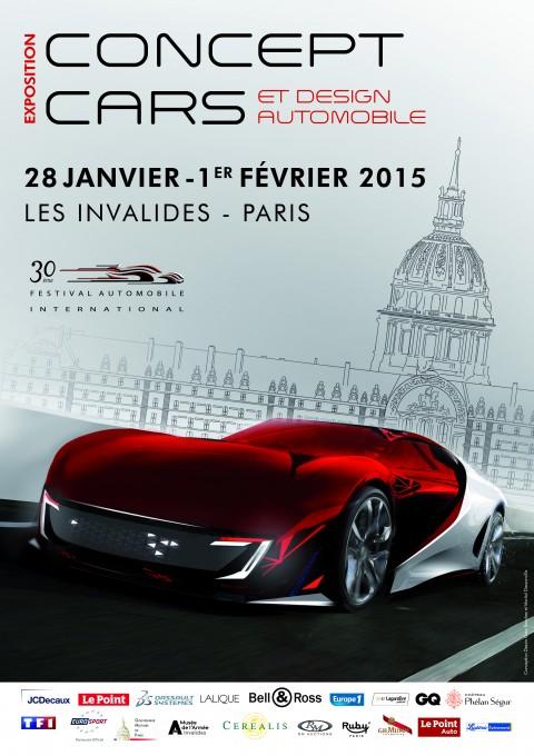 SALON CONCEPT CARS 2015 auxI NVALIDES a PARIS