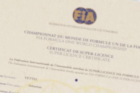 Super licence FIA