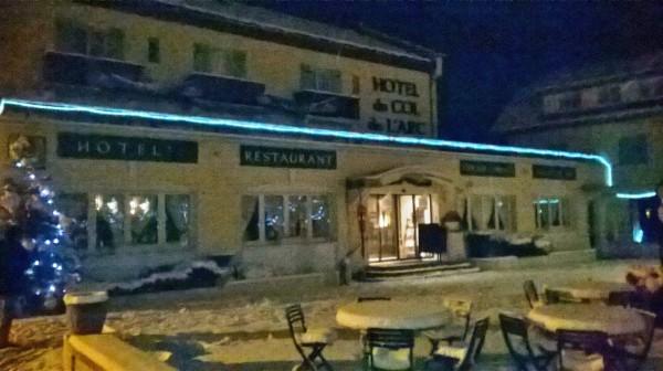 TROPHEE ANDROS 2015 - LANS EN VERCORS Le fameux hotel restauran