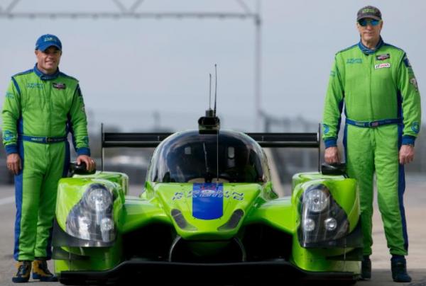 USCC 2015 - Les deux pilotes de la LIGIER JSP2 du Team KROHN Racing Test au COTA a AUSTIN les 4et 5 decembre.