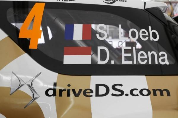WRC 2015 MONTE CARLO - DS3 de LOEB-ELENA