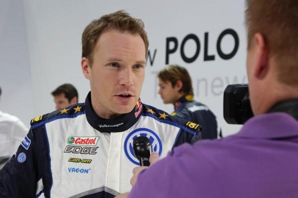 Jari-Matti Latvala (FIN) Volkswagen WRC Kick-off 2015
