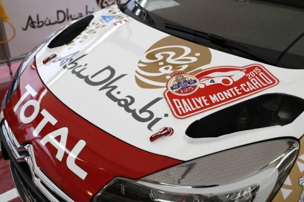 WRC 2015 MONTE CARLO - La DS3 de LOEB-ELENA