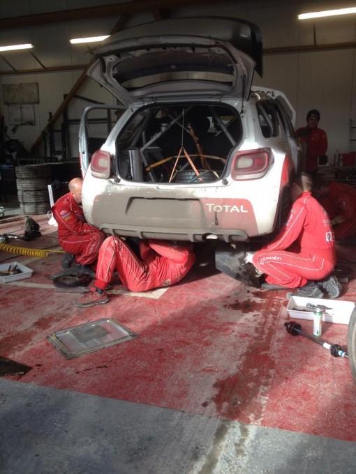 WRC-2015-MONTE-CARLO-Test-LOEB-CITROEN-10-Janvier-Col-du-NOYER-Photo-JP-SIGNORET