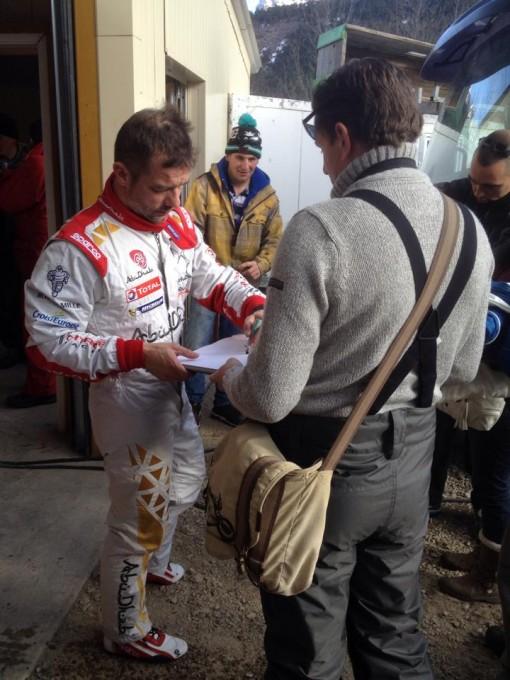 WRC-2015-MONTE-CARLO-Test-LOEB-CITROEN-9-et-10-Janvier-Col-du-NOYER-Photo-JP-SIGNORET