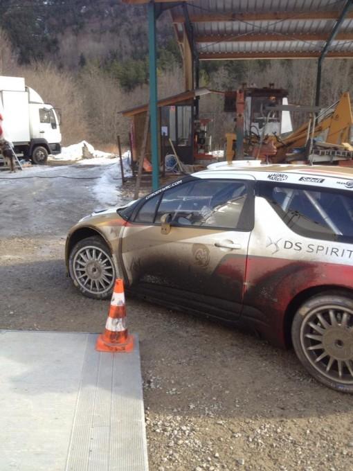 WRC-2015-MONTE-CARLO-Test-LOEB-CITROEN-Le-10-Janvier-Col-du-NOYER-Photo-JP-SIGNORET