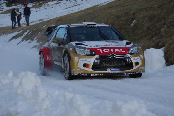 WRC-2015-MONTE-CARLO-Test-LOEB-CITROEN-au-Col-du-NOYER-photo Gregory PERROT