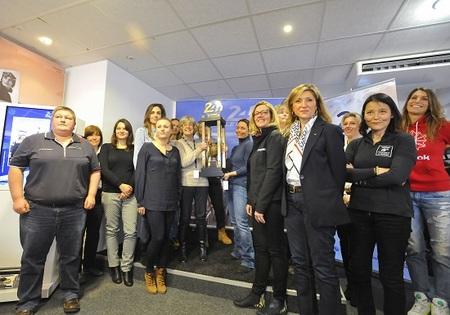 24-H-MANS-Emmanuelle-Lecompte-Madie-Pescarolo-Stéphanie-Lopé-Gaëlle-Duval-Guénaëlle-Longy-Elysia-Morel-Christine-Beckers-Marie-Hélène-Bacle-Vanina-Ickx