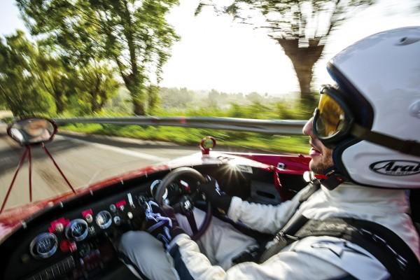 DANIEL RICCIARDO with Alfa-Romeo T33