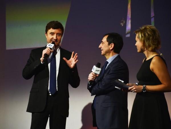 ACO-2015-Presentation-Presse-24-H-DU-MANS-ELMS-WEC-jeudi-5fevrier-Bruno-VANDESTYCK-Le-Président-FILLON-ACO-et-Guenaelle-LONGY-Photo-Max-MALKA