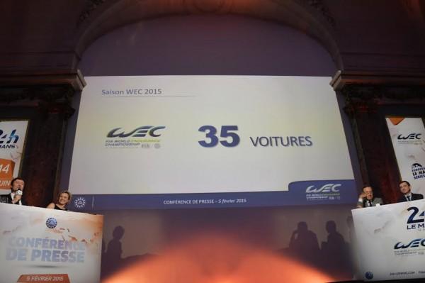 ACO-2015-Presentation-Presse-24-H-DU-MANS-ELMS-WEC-jeudi-5fevrier-WEC-35-VOITURES-en-2015-Photo-Max-MALKA