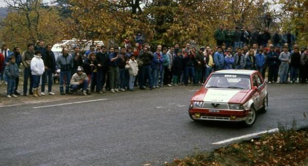 Alfa 75 V6 Groupe A Jacques Panciatici-Philippe DAVID Cevennes 2008