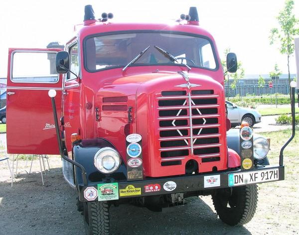 BORGWARD-Camion-B522-A/O de 1961