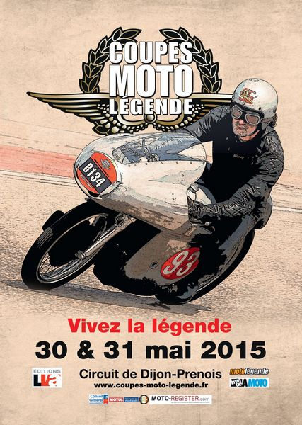 COUPES MOTO LEGENDES 2015 Affiche