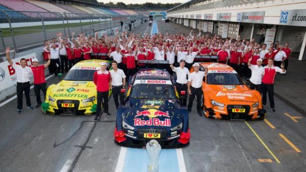 DTM 2015 AUDI Presente ses pilotes
