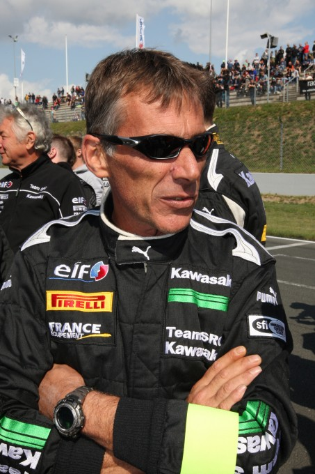 ENDURANCE 2015 Team KAWASAKI - Le Team manager -Gilles SCHAFFE