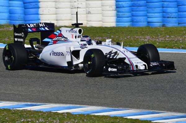 F1-2015-JEREZ-Dimanche-1er-fevrier-La-WILLIAMS-MERCEDES-de-Valterri-BOTTAS-Photo-Max-MALKA.