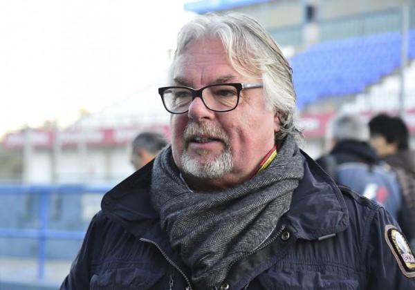 F1-2015-JEREZ-Dimanche-1er-fevrier-Stand-MERCEDES-Keke-ROSBERG-pére-de-NICO-et-ancien-CHAMPION-du-monde-de-F1-en-1982-Photo-Max-MALKA