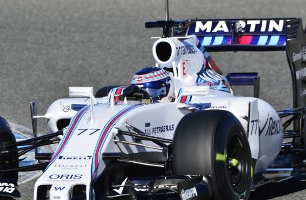 F1-2015-JEREZ-Dimanche-1er-fevrier-la-WILLIAMS-MERCEDES-de-Valterri-BOTTAS-Photo-Max-MALKA