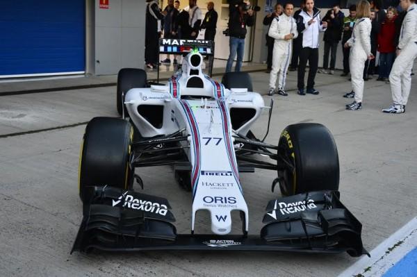 F1-2015-JEREZ-Presentation-de-la-WILLIAMS-MERCEDES-Photo-Max-MALKA.