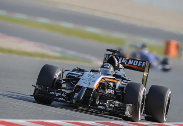 F1-2015-MONTMELO-20-Février-SERGIO-PEREZ-FORCE-INDIA-MERCEDES-Photo-Antoine-CAMBLOR