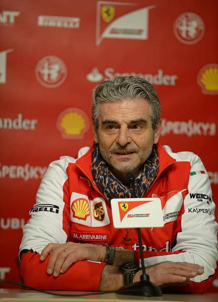 F1-2015-MONTMELO-20-janvier-SCUDERIA-FERRARI-Conférence-de-MAURIZIO-ARRIVABENE-Photo-Antoine-CAMBLOR.