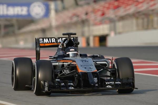 F1 2015 MONTMELO - Jenson BUTTON Team McLAREN HONDA - Photo Antoine CAMBLOR.